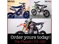 MotoX1 brand new YX-160 160cc Pitbike dirtbike 2016 Limited Edition