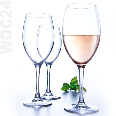 6 x 35 cl Weißweingläser Weingläser Gin Tonic Weißwein Glas Gläser Trinkgläser