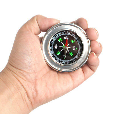 60 mm Stainless Steel Metal Compass for both Outdoor and Home Sturdy and Durable