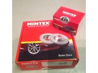 MG Rover brake discs and pads