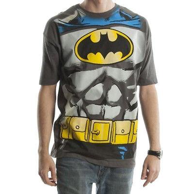 Authentic Batman Costume (BATMAN Costume T-Shirt Mens Suit Up New Authentic)