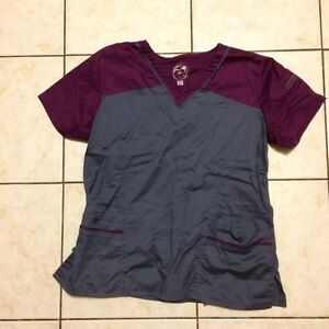 Women's scrub tops and pants