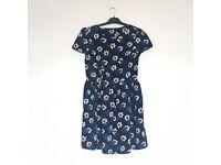 Smart casual tea dress floral print size 14 atmosphere