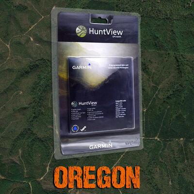 Garmin HuntView Maps - Oregon - Topo for Alpha, Astro, eTrex, GPSMAP, Rino