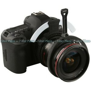 FOTGA-Adjustable-Zoom-Follow-Focus-Gear-Belt-Ring-Handle-Lever-White-Mark-Board