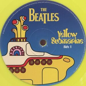 Beatles - Yellow Submarine (1999) LP vinyle jaune Neuf/Scèllé