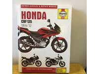 Book - Honda CBF 125
