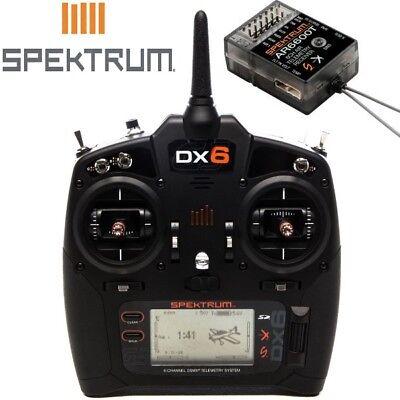 New Spektrum Radio Transmitter Dx6 6 Channel Gen 3 Dsmx W Ar6600t Receiver Sp
