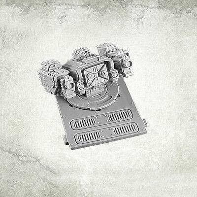 Legionary APC turret: Twin Heavy Thunder Gun Kromlech Resin KRVB022