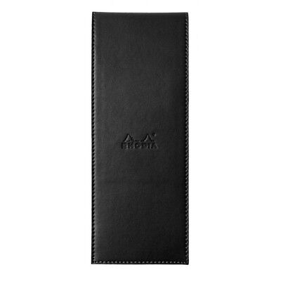 Rhodia Pad Holder - Black - Graph Pad With Pen Loop - 3 X 8.25 Inch New R118099