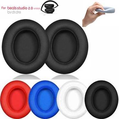 2 Replacement Ear Pads Cushion for Beats by dr dre Studio 2.0 Headphone