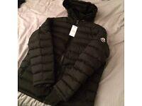 Moncler Black & Navy Puffer Coats, M L XL BRAND NEW