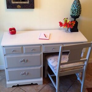 Refinished desk