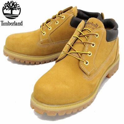 Timberland Mens Clasic Oxford Wheat Waterproof Chukka Boots 73538 NEW