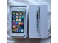 iPhone 5 EE Silver 16GB very good condition
