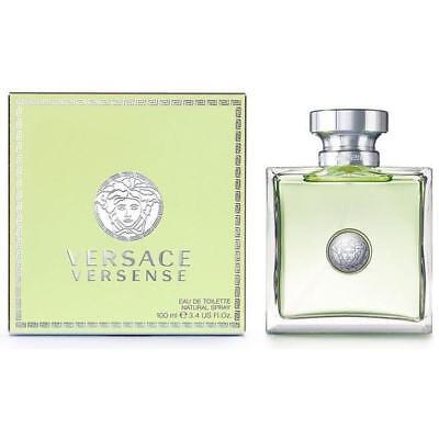 VERSACE Versense 3.4 oz edt Perfume women New in Box