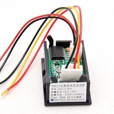 High Quality Dc 4.5-30v 0-10a Led Digital Volt Meter Ammeter Voltage Amp Power
