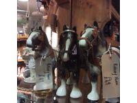 Beswick and melbaware horses