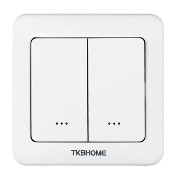 TKB HOME - Z-Wave Plus Dual Dimmer Switch TZ35-D-ZW5