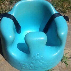 NEW PRICE: Blue Bumbo chair (with straps)