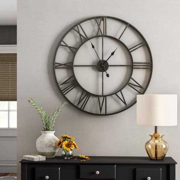 Cafepress Weird Eye Unique Decorative 10 Wall Clock 109702100 Home Decor Clocks