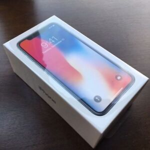 iPhone X 256GB - $1250 New In Box **FIRM**