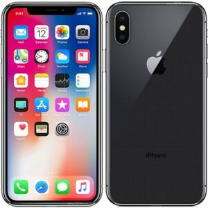 BRAND NEW IPHONE X 256GB BLACK SEALED IN BOX
