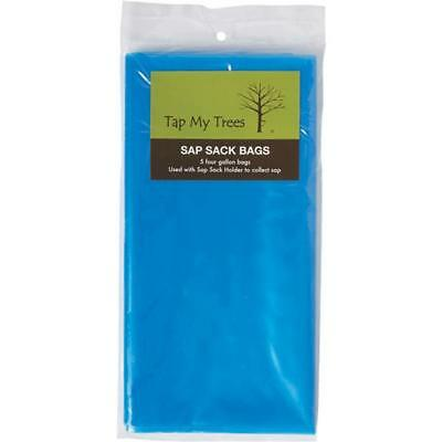 Tap My Trees Maple Sugaring Sugar Heavy Duty Plastic Sap Sack 5-pack 663032
