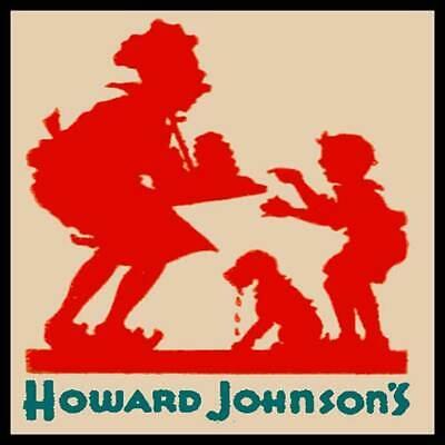 Howard Johnsons Restaurant Fridge Magnet
