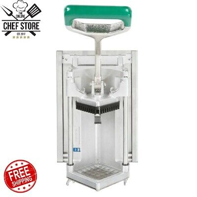 12 Commercial French Fry Vegetable Cutter Chopper Dicer Wall Mount Restaurant