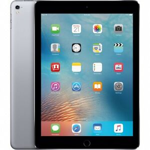"Apple iPad Pro 9.7"" space grey w/256gb (wi-fi)"