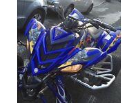 Yamaha raptor 700, road legal quad, Yfz 450,ltr 450,ltz 400,