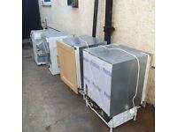 NEFF Integrated units. Fridge freezer washing machine dryer oven