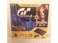 Play Station 3 PS3 500GB plus Games