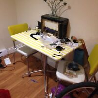 Free Retro Kitchen Table and 2 Chairs