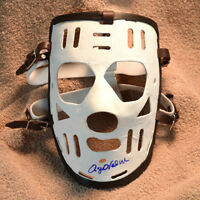 Signed ROGIE VACHON Montreal Canadiens Rookie Mask - Marc Puolin