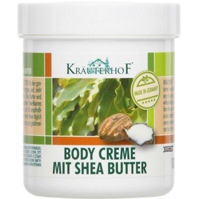 Butter Körper-creme ((2,99€/100 ml) Kräuterhof Body Creme mit Shea Butter 100ml für den ganzen Körper)