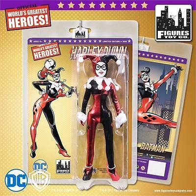Batman Joker Harley Quinn Black 8  Figure Gold Series 2017 Dc Comics