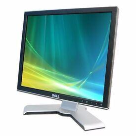 "17"" TFT Computer PC System Monitor Screen **DELL** 4:3 ratio 1280 x 1024 *Warranty*"