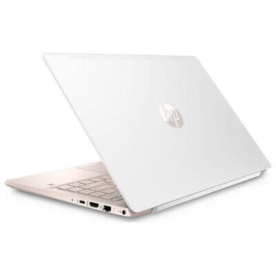 "HP Pavilion 14-ce0595sa White & Gold 14"" Intel Pentium Gold Laptop - 128 GB SSD"