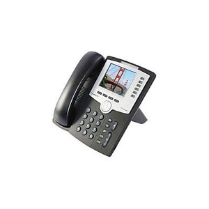 Linksys Cisco SPA 962 6 lines color display IP phone with base