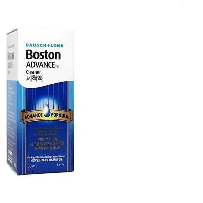 3PC Boston Advance Permeable Contact Lens Cleaner 30ml_AC Ac Lens Contact Lenses