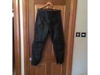 Belstaff men's leather trousers 36 waist