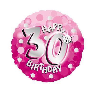Pink Sparkle Happy 30th Birthday 18