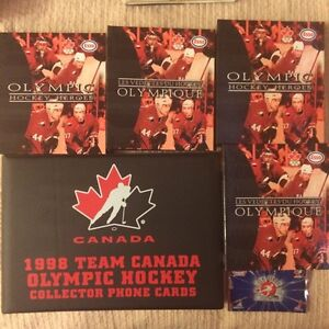 6 TEAM CANADA SETS OF HOCKEY CARDS FROM VALUE-NET, ESSO, KRAFT.