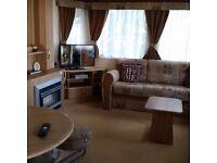 Lovely 3 bedrooms caravan to let in Seton Sands Haven.