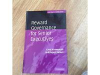 Reward governance for senior executives
