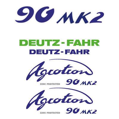 Deutz-fahr Agrotron 90 Mk2 Tractor Decal Aufkleber Sticker Set