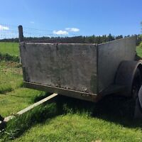 Utility trailer 4x6 bed