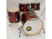 Ludwig Element Drum Kit Shell Pack 22,10,12 & 16″ in Red Sparkle
